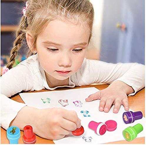 Tamponi di inchiostro per impronte e impronte neonato, Inchiostro per impronte di mani e piedi per bambini, Kit impronte bambini Inchiostro, Tampone di inchiostro di mani 6
