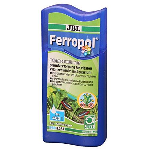 JBL Ferropol, Fertilizzante per Piante acquatiche, per acquari d'Acqua Dolce (Etichetta in Lingua Italiana Non Garantita)