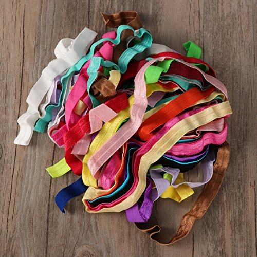 TUKA 40 Metri Elastica Banda, Fascia Elastici Piatto Cucito Nastro, per Cucire Craft Accessories, Abiti Personalizzati, 40 Metri di Lunghezza, Disponibile in Diversi Colori e Dimensioni 2