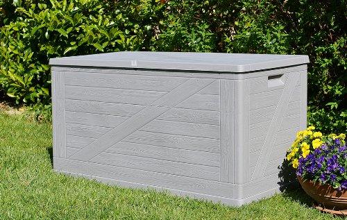 TOOMAX Z163R025 Baule Multibox, Wood Line, 120X57X63, Tortora 6