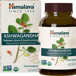 Himalaya High Strength Ashwanghanda (Ginseng indiano) Certificato dall'USDA | Prodotto naturale per lo stress e l'energia | 4.630 mg Ashwagandha in polvere 120 capsule | Per 4 mesi