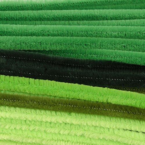Vaessen Creative collegamento ciniglia, Nylon, Verde, 0,8x 30cm 2