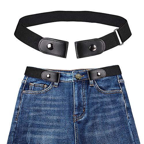 Womdee Cintura Donna Elastica Senza Fibbia – Cintura Elastica Invisibile (40 Pollici Regolabile), più Salute per La Vita Cintura Elastica Invisibile Senza Fibbia per Qualsiasi Taglia