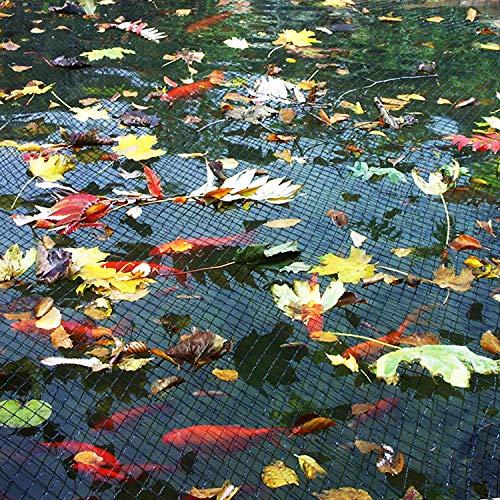 Wisolt Pond And Pool Net Cover, (13 * 20 FT) Rete per Nylon Resistente con 12 piazzole di Posizionamento, Protegge Il Pesce da Blue Heron Birds Cats Predators