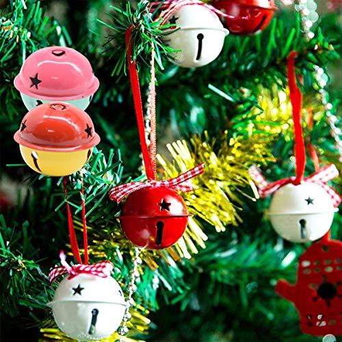 360 Pezzi 1/2 Pollici Jingle Bell Craft Massa Campanelli di Metallo per la Decorazione di Natale DIY 2