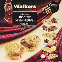 Walkers Premium Shortbread Selection Scatola di latta biscotti 4 varietà 4.6 lb (2.1 Kg)