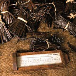 """Baccelli di Vaniglia neri Tahitensis 28g / Qualità Premium""""10 pezzi 12/15cm"""