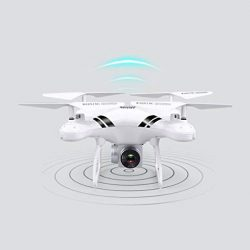 Lorenlli Fit KY101S RC Drone con WiFi FPV HD Regolabile Altitudine Altoparlante Hold One Key Return/Landing / off RC Quadcopter Drone Senza Testa