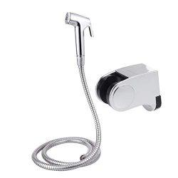 OUNONA Bagno Handheld Bidet Kit Toilette spruzzatore Pannolino Lavabiancheria Doccia Portatile Spruzzatore Spray Acciaio Inox per Igiene Personale e vasino WC Doccia Attacco