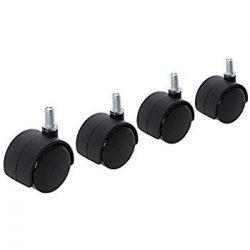 Coldene Castors Ltd 50mm mobili Sedia da Ufficio rotelle/Ruote Confezione da 4rotelle