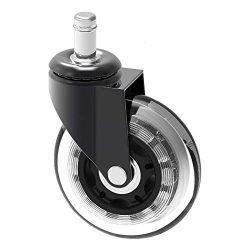 OK5STAR Ikea Caster Wheel 10mm di Ricambio per Pavimenti in Legno di Protezione