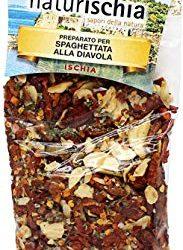 Naturischia – 3 confezioni di preparato per Spaghettata alla diavola 100 gr. ciascuna – Prodotto tipico Ischia