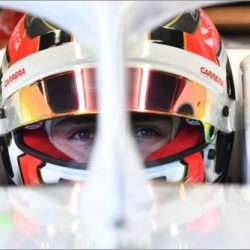 Posterlounge Stampa su Vetro Acrilico 90 x 60 cm: Charles Leclerc, Alfa Romeo Sauber C37 Testing 2018 di Motorsport Images 2