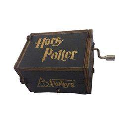 Maditun Home Carillon Classico Harry Potter Carillon Creativo in Legno a manovella