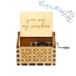 Funmo OMZGXGOD Pure Hand-Classical Sei Il Mio Sole Music Box Hand-Wooden Music Box Artigianato in Legno creativi I Migliori Regali