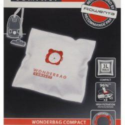 Rowenta WB305120 Set 5 Sacchi Wonderbag Compact Universali per Aspirapolvere
