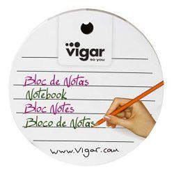 VIGAR Ricambio per Blocco Appunti, Bianco