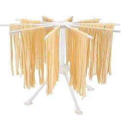DIYARTS 10 Rami Noodles Pieghevoli Stendino Stalla Fatta A Mano Tagliatella Supporto per Appendere Utensili da Cucina Pasta Fatta in Casa Gadget 2