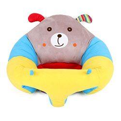 MIJI Cuscino del bambino-360 ° Supporto Divano Imbottito Stile Cartone Animato Peluche Sedile Divano Regalo (Adatto per 0-3 Anni)