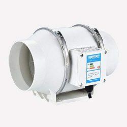 Hifuture – Ventola da 220 V, 4″, per Tubi e finestre, per Cucina e casa