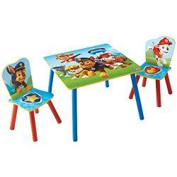 La Squadra dei Cuccioli – Tavolo per bambini con 2 sedie