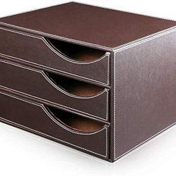 Ufficio Governo di Immagazzinaggio Governo del Cassetto di Archiviazione for Uffici Mobili Cassetti Desktop Gabinetto (Color : Brown)