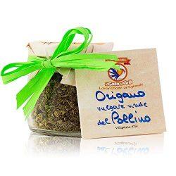 Origano selvatico del Pollino sbriciolato – vaso di vetro – Calabria – 20g