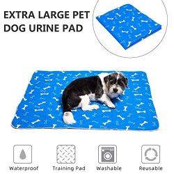 Tappetini Igienici per Cani, Tappetini Assorbenti per Addestramento Cuccioli, Super Assorbente Anti-perdite Lavabile Impermeabile, Pannolini per Animali Domestici