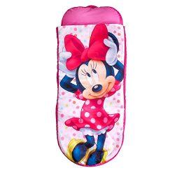 Minnie Mouse ReadyBed – Letto gonfiabile e sacco a pelo per bambini 2 in 1, Poliestere, Rosa, 150 x 62 x 20 cm