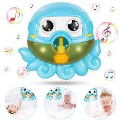 joylink Bubble Giocattoli da Bagno, Bath Bubble Machine Bolla Automatica Macchina Bambini Giocattoli da Bagno e con 42 Musica Bambini Giocattoli da Bagno