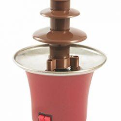 Kooper 2408955 Fontana Fonduta Willychoc, 65 W, Rosso