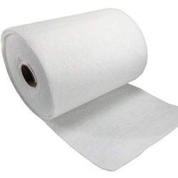 Fdit Parti di filtrazione dell'Aria del Cotone del Filtro primario del Cotone del Filtro dell'Aria Bianco di 3MM 1 Rotolo 1m x 5m