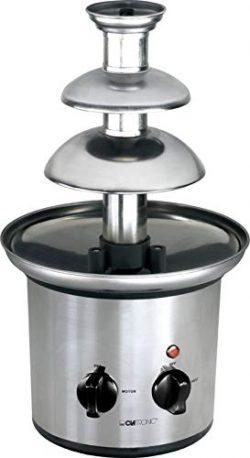 Acciaio inossidabile Fontana di cioccolato fontana di cioccolato fontana elettrico formaggio frutta-Salsa Salsa Barbecue (Sparsame 170Watt, per circa 500gr o circa 750G cioccolato fondente)