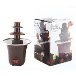 Fontana di cioccolato, set per fonduta al cioccolato