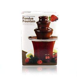Fontana di cioccolato, set per fonduta al cioccolato 4
