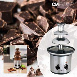 Clatronic SKB Fontana cioccolato in acciaio INOX 5