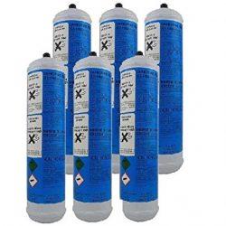 Filtri Acqua Italia Bombole Co2 per Gasatori Set 6 pezzi Usa e Getta E290 Alimentare