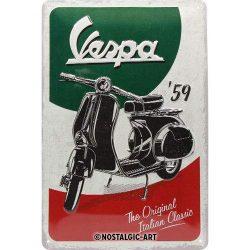 Nostalgic-Art Vespa-The Italian Classic Targhe, Metallo, Multicolore, 30x0x20 2