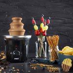 Clatronic SKB Fontana cioccolato in acciaio INOX