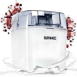 Duronic IM540 Macchina per gelati 1,5 L gelatiera ad accumulo 30 W per sorbetti Frozen yogurt gelato artigianale fatto in casa 2