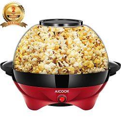 Aicok Macchina per Popcorn 5L con Rivestimento Staccabile 2